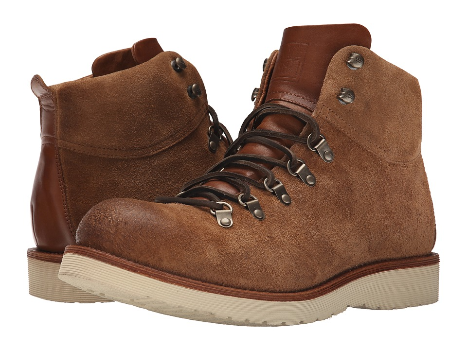 Frye - Evan Hiker (Caramel Oiled Suede) Men