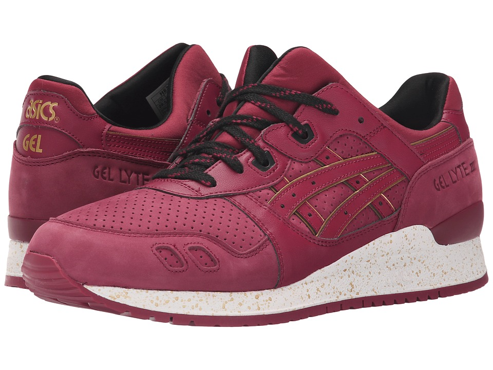 ASICS Tiger Gel Lyte III Burgundy/Burgundy Classic Shoes