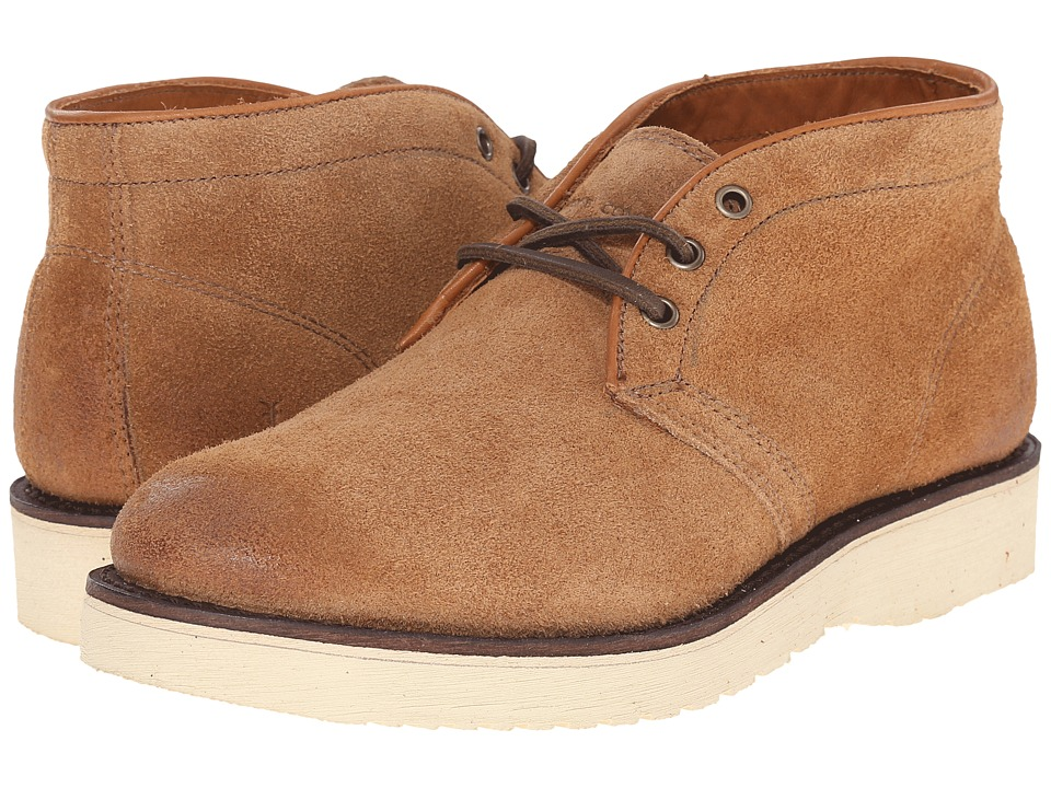 Frye - Freeman Chukka (Caramel Oiled Suede) Men