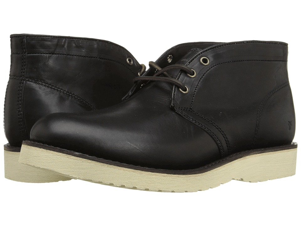 Frye - Freeman Chukka (Black Vintage Pull-Up) Men