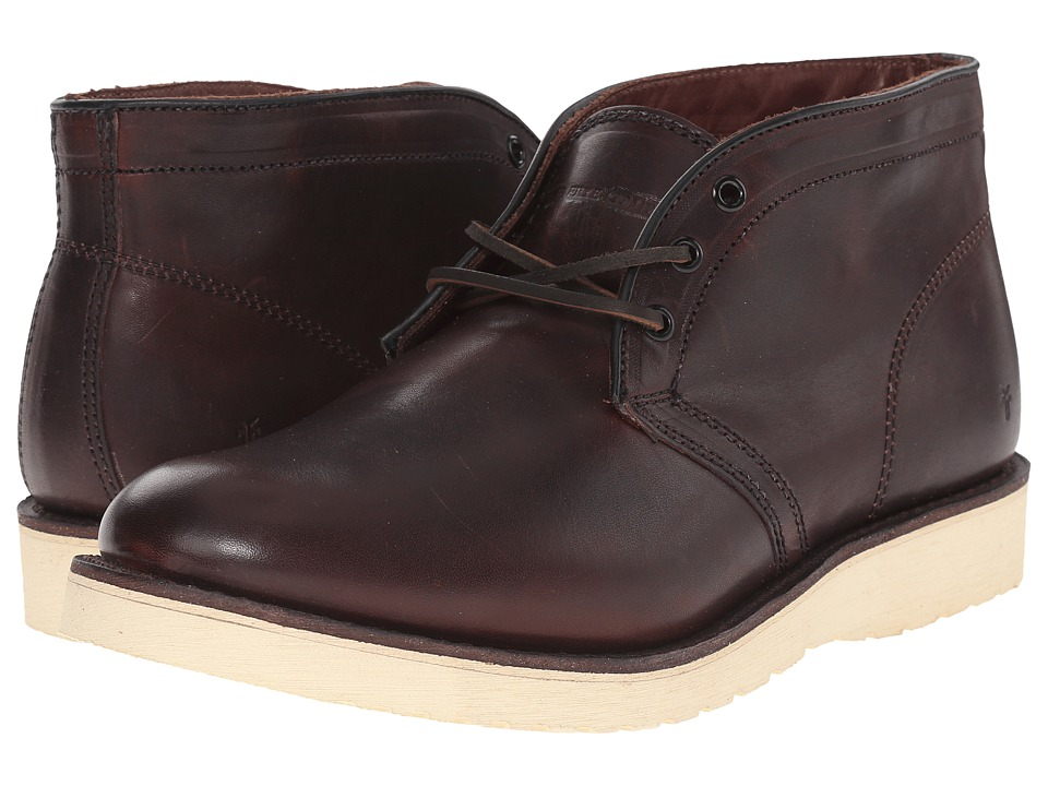 Frye Freeman Chukka (Redwood Vintage Pull-Up) Men's Boots