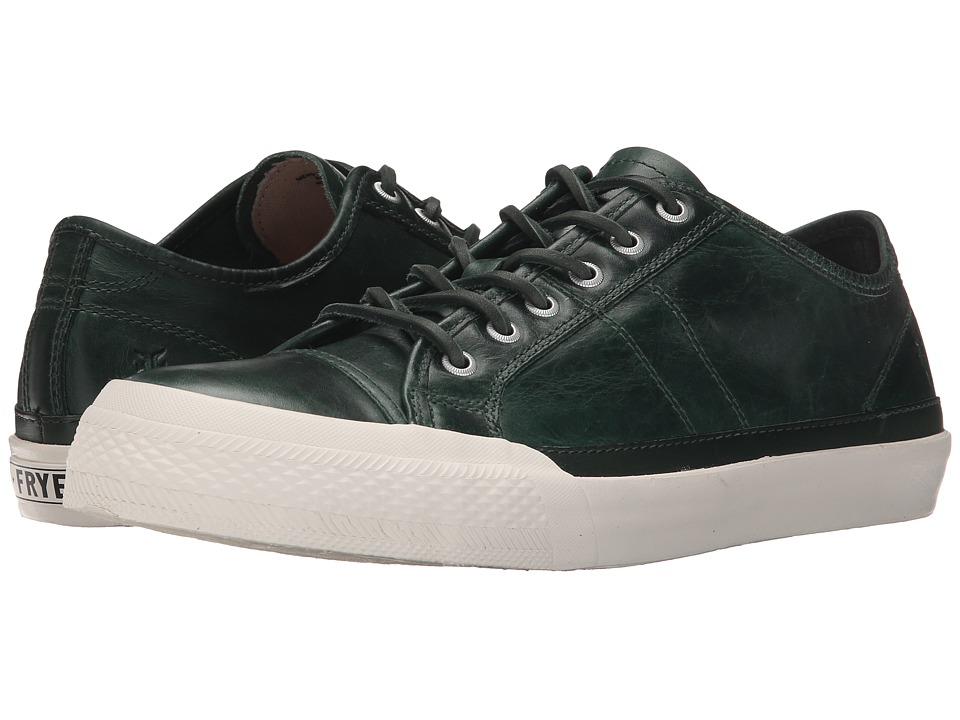 Frye Greene Low Lace (Forest Antique Pull-Up) Men