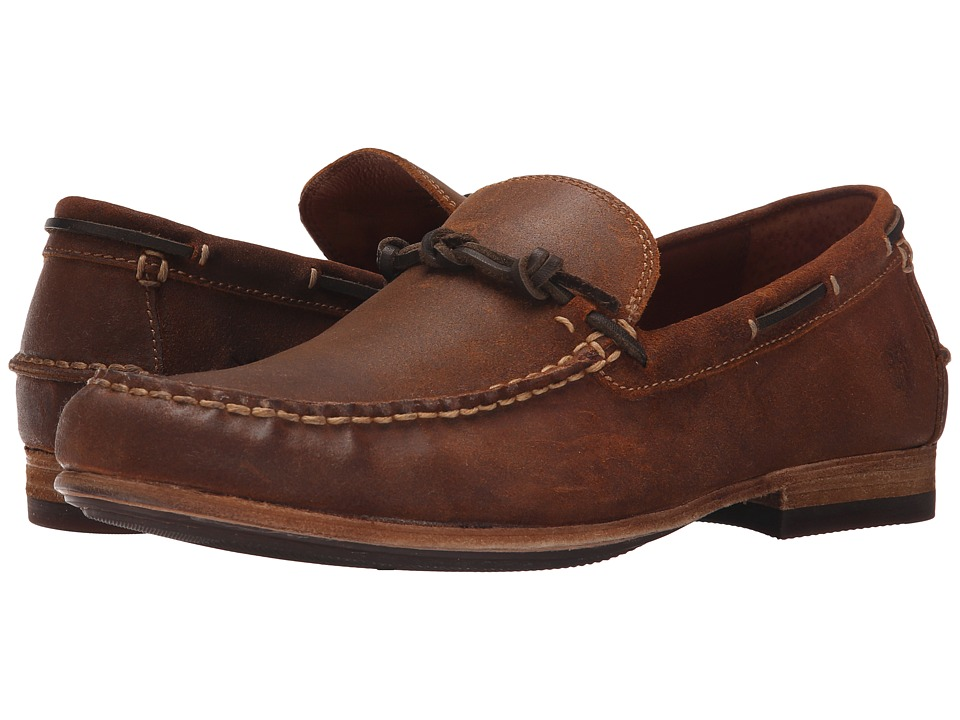 Frye Henry Knotted (Tan Waxed Vintage Leather) Men