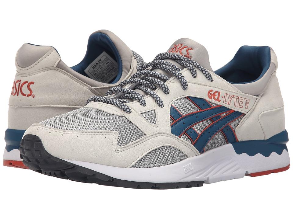 ASICS Tiger - Gel-Lyte V (Light Grey/Legion Blue Suede/Mesh) Shoes