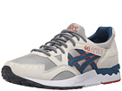 Image of ASICS Tiger - Gel-Lyte V (Light Grey/Legion Blue Suede/Mesh) Shoes