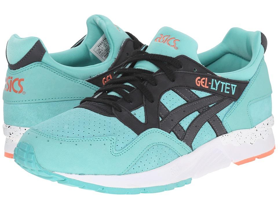ASICS Tiger Gel-Lyte V (Turquoise/Black Nubuck/Suede) Shoes