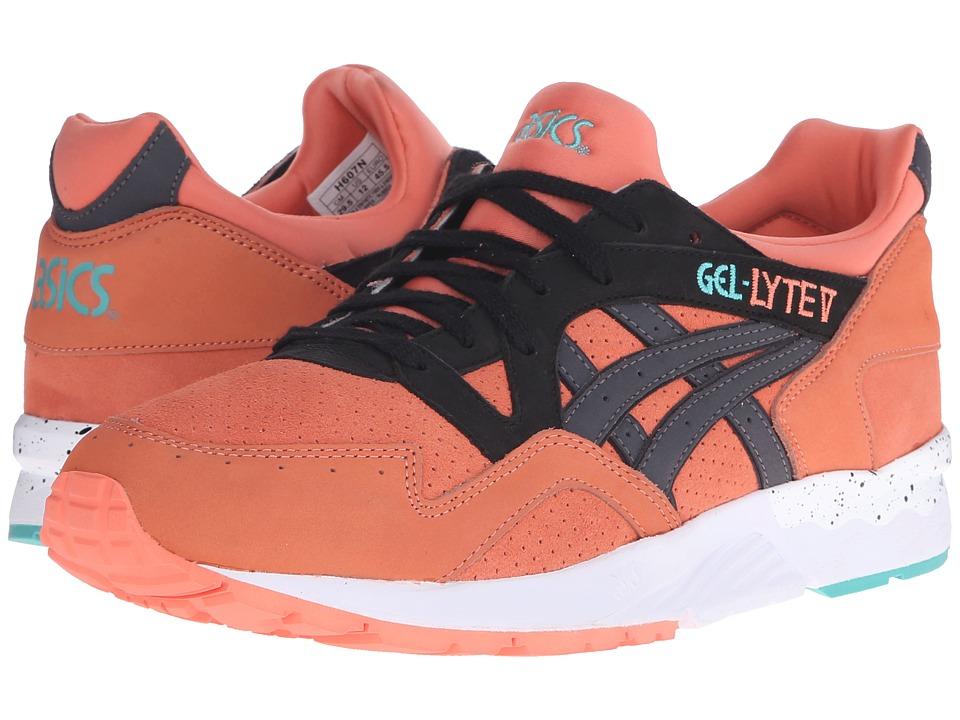 ASICS Tiger Gel-Lyte V (Coral/Black Nubuck/Suede) Shoes