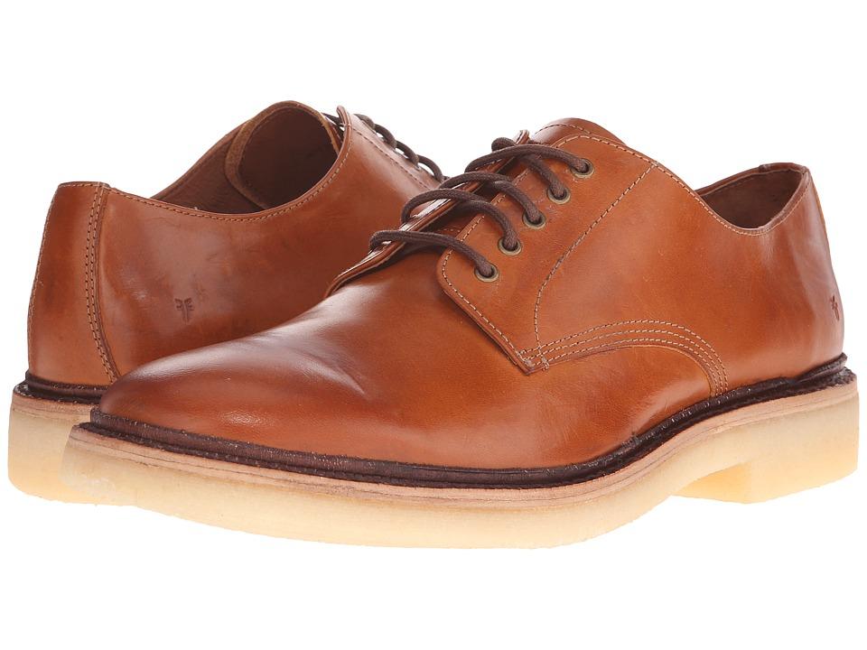 1960s Mens Shoes- Retro, Mod, Vintage Inspired Frye - Luke Oxford Caramel Vintage Veg Tan Mens Shoes $194.60 AT vintagedancer.com