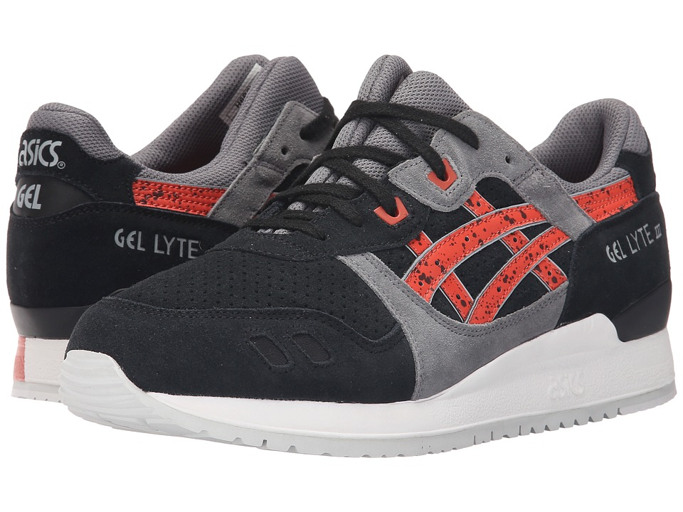 ASICS Tiger Gel Lyte III Black/Chili Classic Shoes