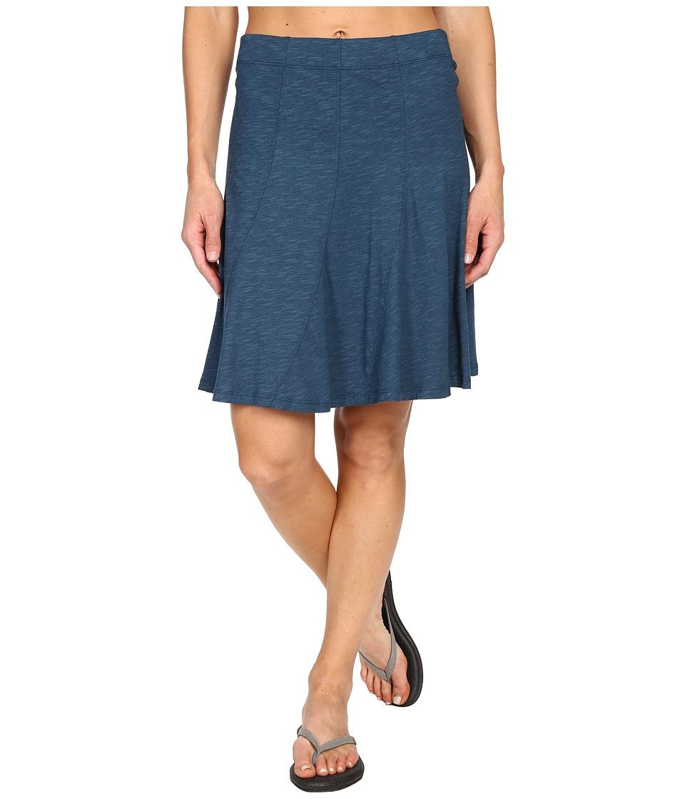 ToadampCo Chachacha Skirt Inky Teal Womens Skirt