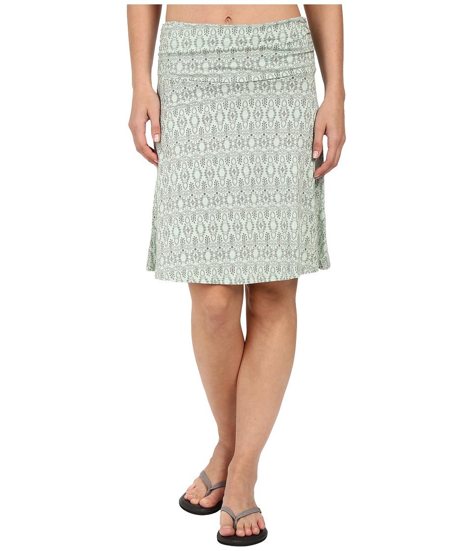 ToadampCo Chaka Skirt Pistachio Tapestry Print Womens Skirt