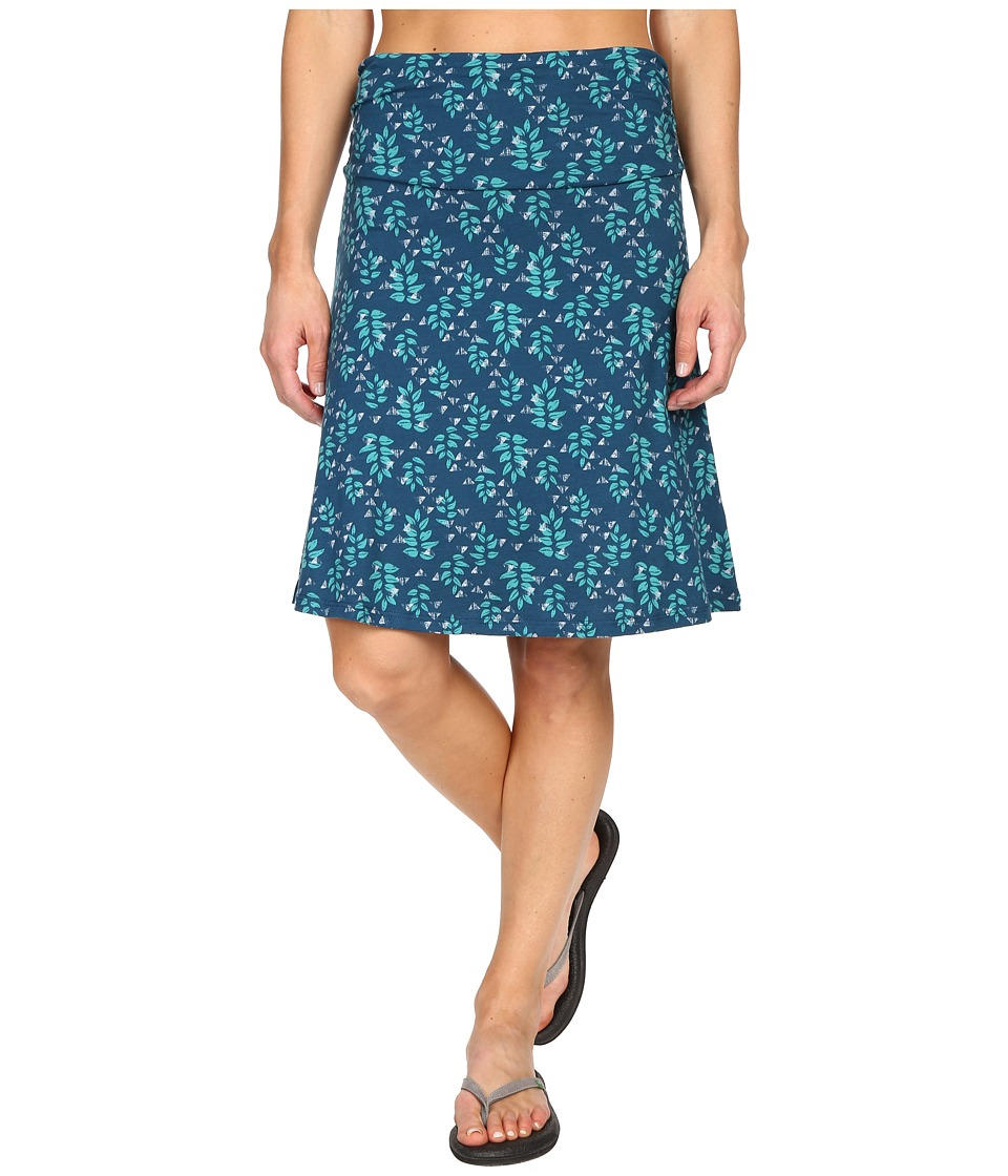 ToadampCo Chaka Skirt Inky Teal Found Forest Womens Skirt