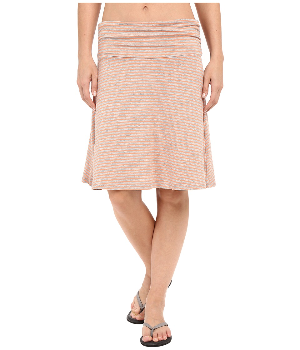 ToadampCo Chaka Skirt Melon Stripe Womens Skirt