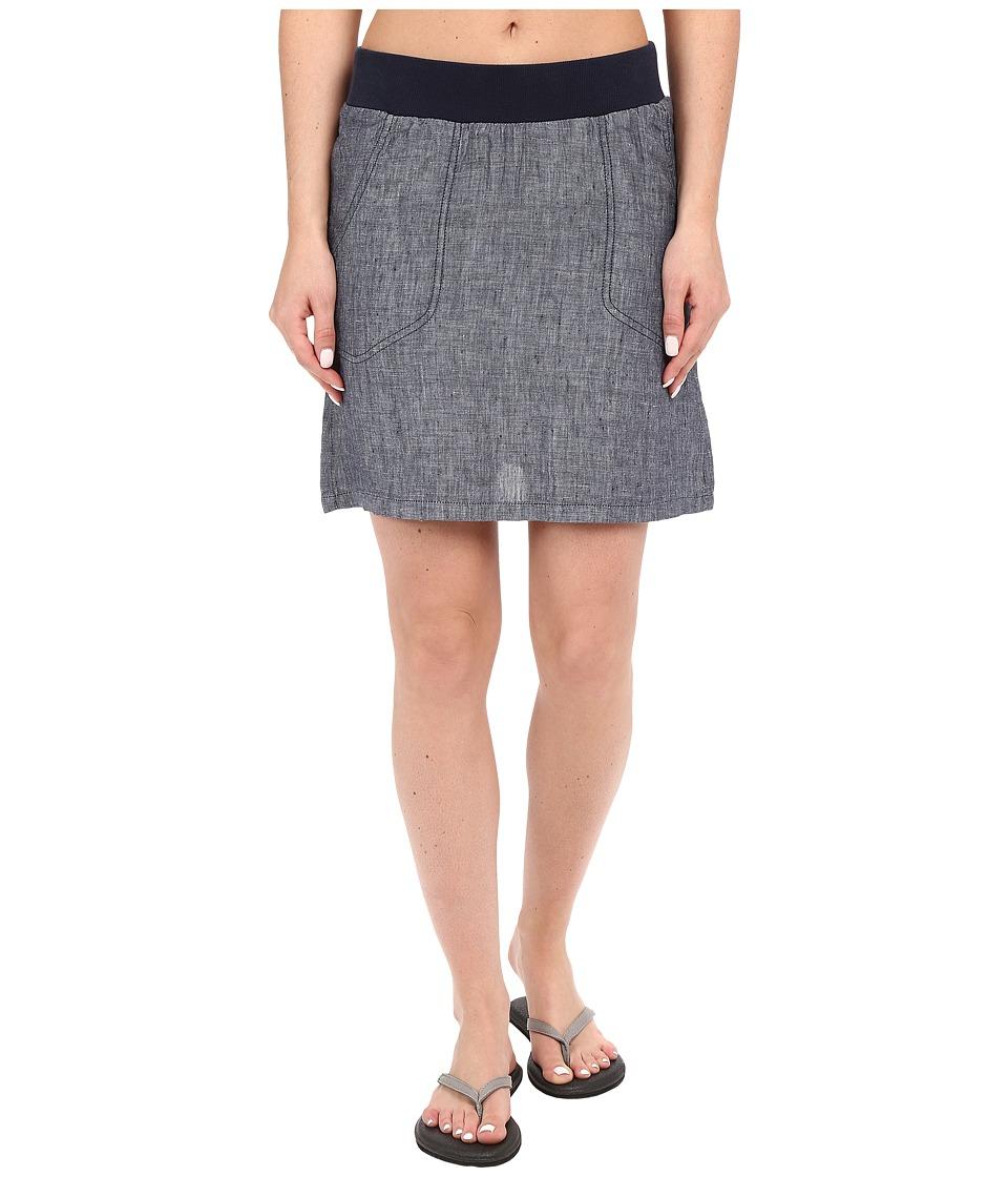 ToadampCo Lina Skirt Deep Navy Womens Skirt