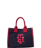 Tommy Hilfiger - Canvas TH Print Medium Tote