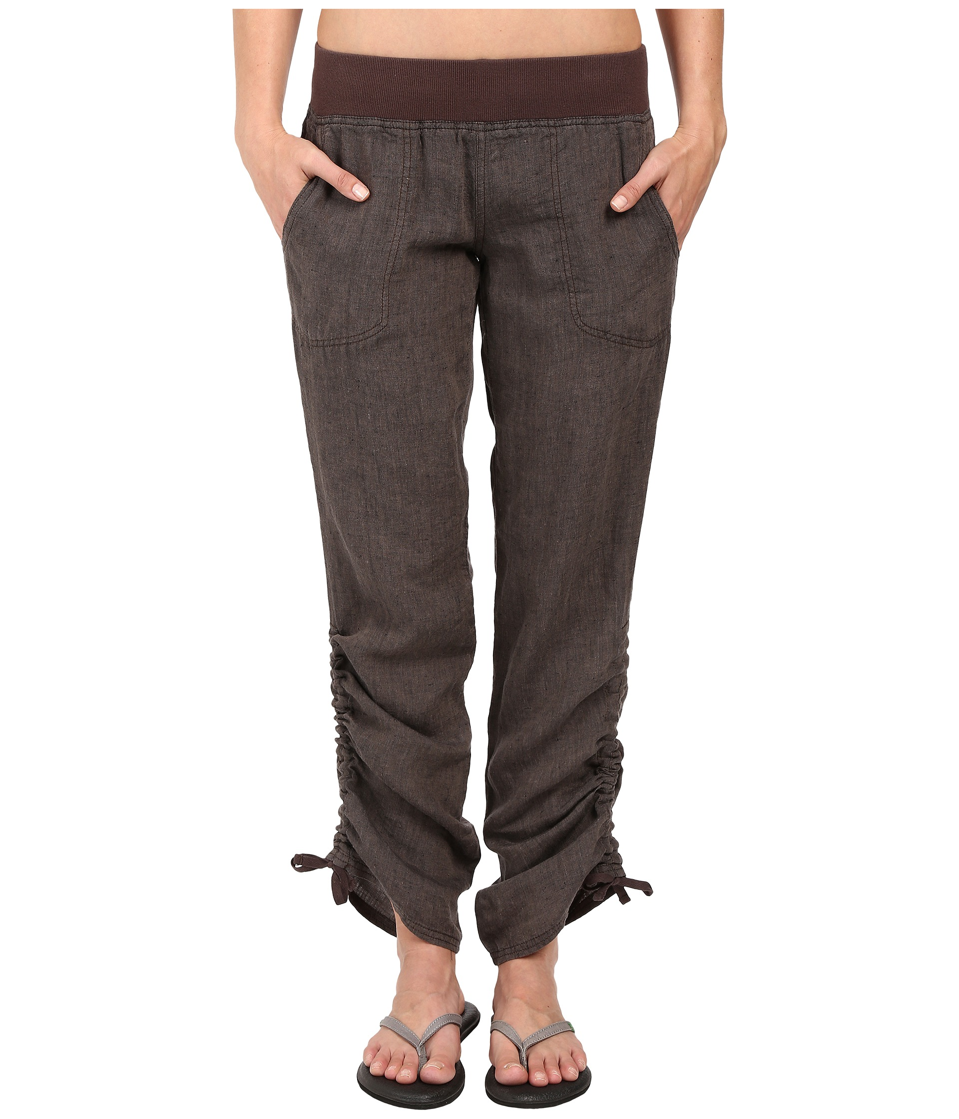 Dark Brown Pants For Women