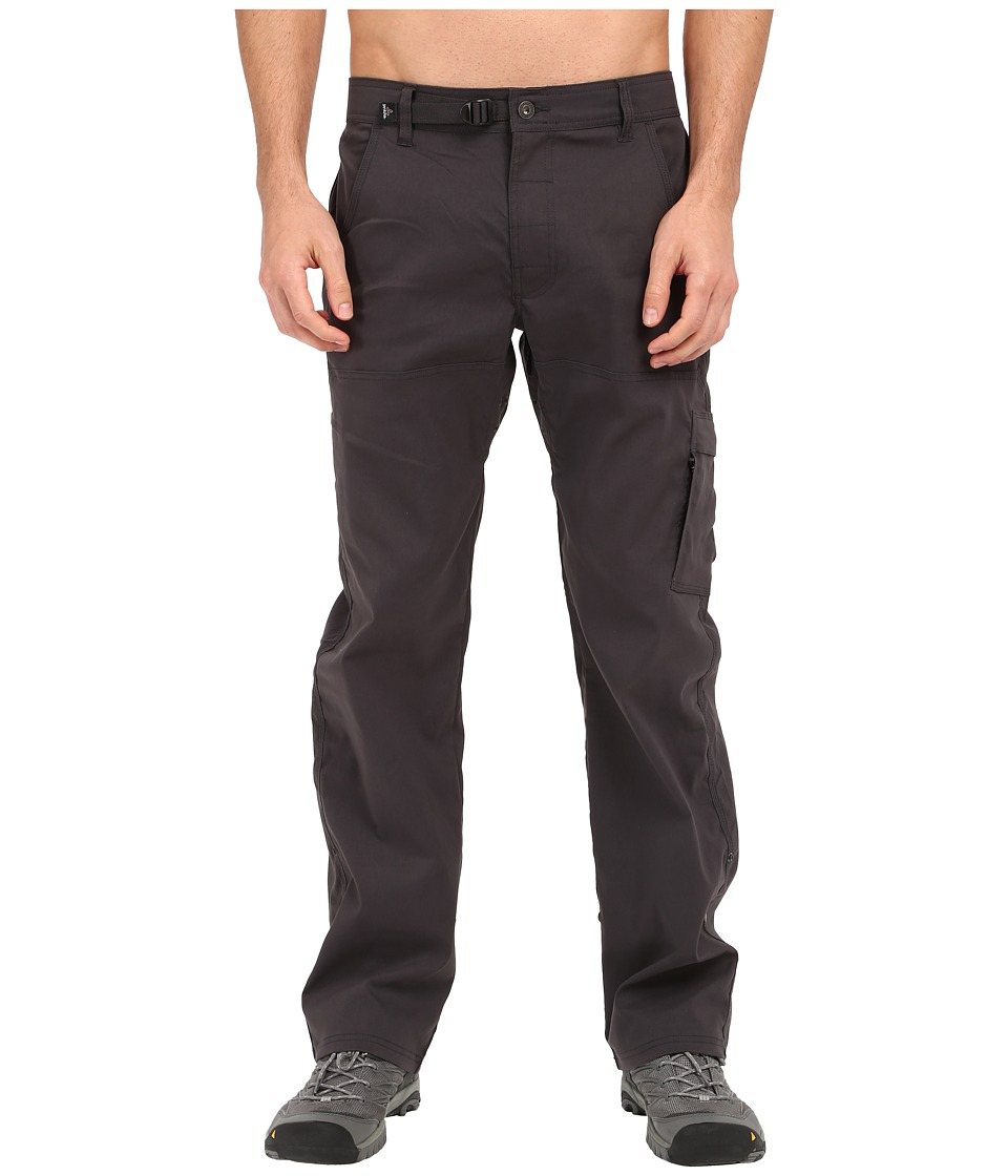 Prana Stretch Zion Pant Charcoal Mens Casual Pants