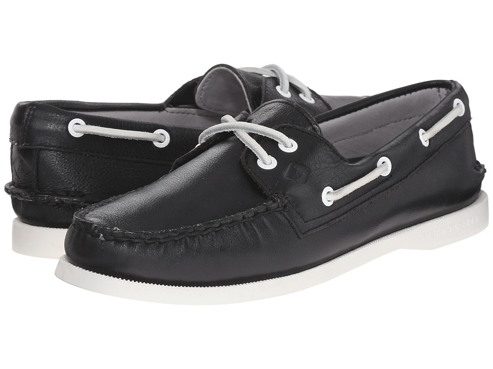 Sperry Top-Sider - A/O 2-Eye Leather (Black) Women