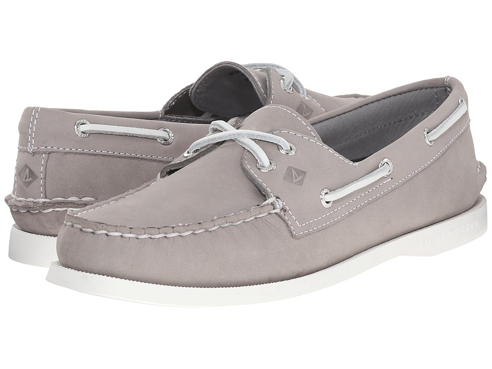 Sperry Top-Sider - A/O 2-Eye Leather (Grey) Women