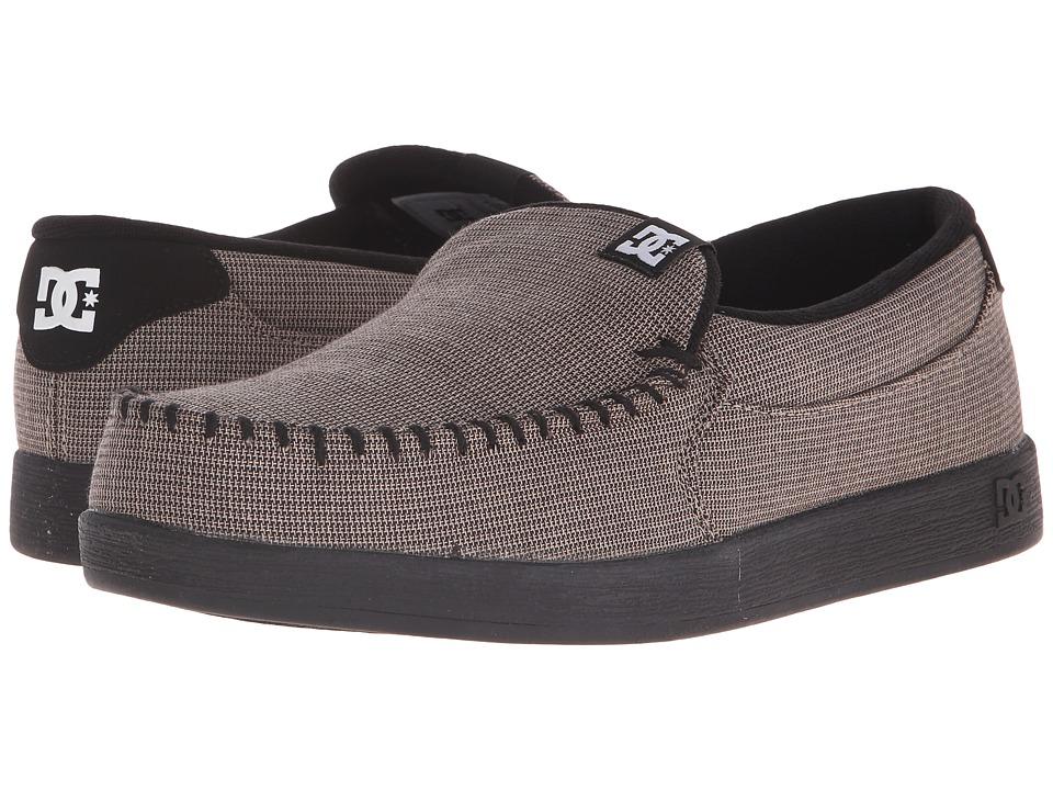 DC - Villain TX (Grey/Black/Black) Mens Skate Shoes