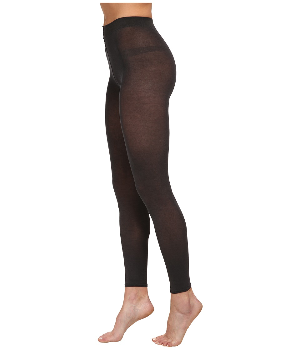 Falke Cotton Touch Leggings Anthracite Womens Casual Pants