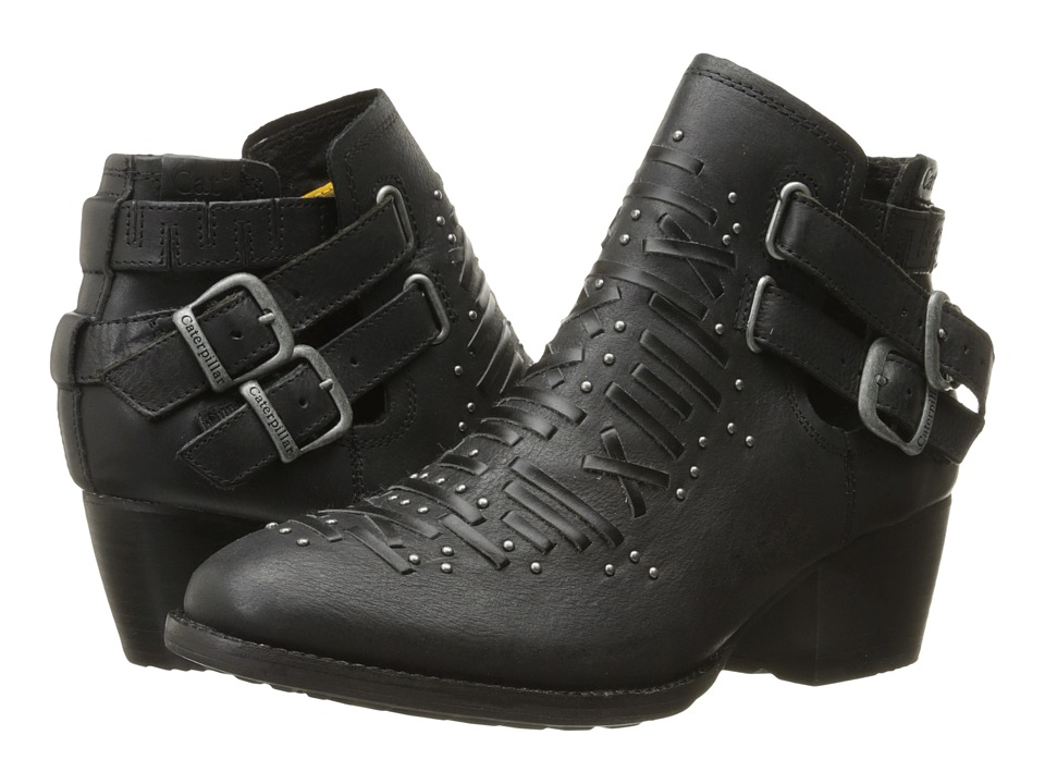 Caterpillar Casual Cheyenne Black Womens Pull on Boots