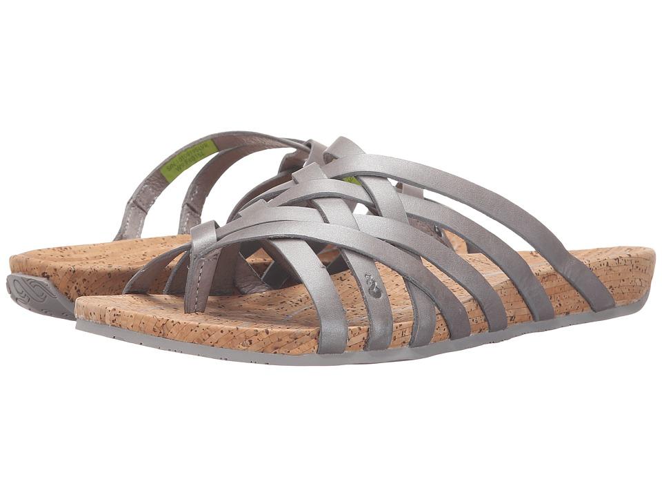 Ahnu Maia Thong Silver Womens Shoes