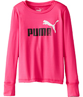 Puma Kids - Forever Faster Long Sleeve Tech Tee (Little Kids)
