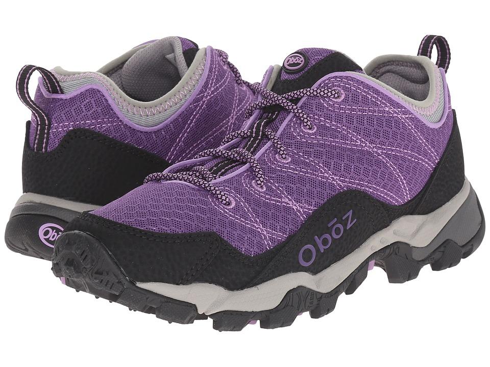 Oboz Pika Low Fuchsia Womens Shoes