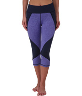 Pink Lotus - Solid Essentials Lotus Color Block Capris
