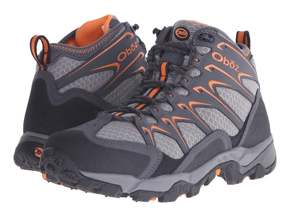 Oboz Scapegoat Mid Charcoal Mens Shoes