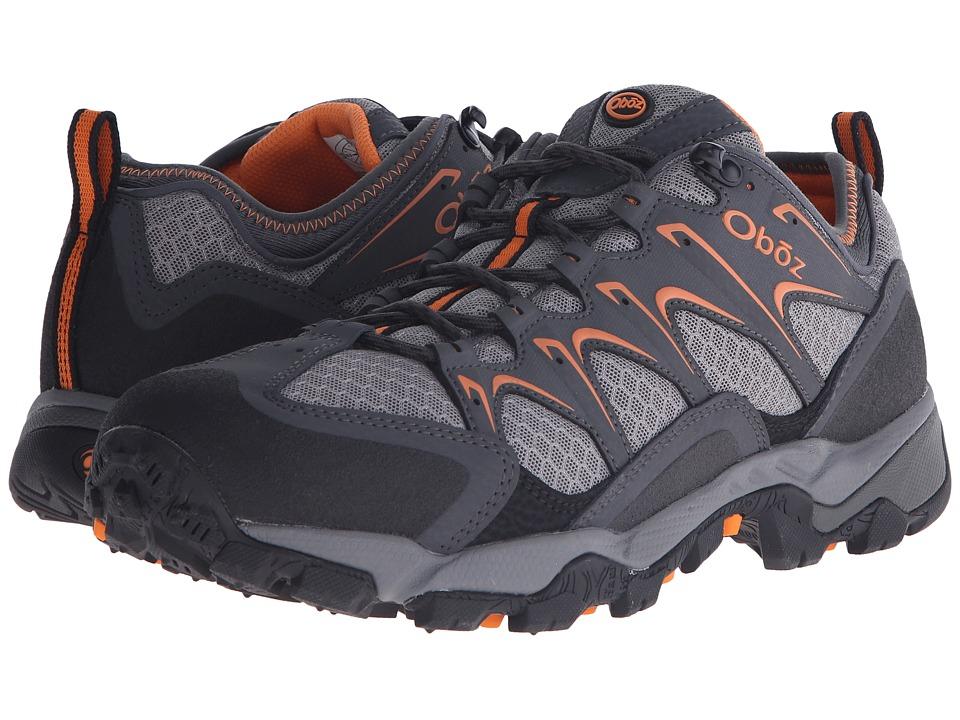Oboz Scapegoat Low Charcoal Mens Shoes