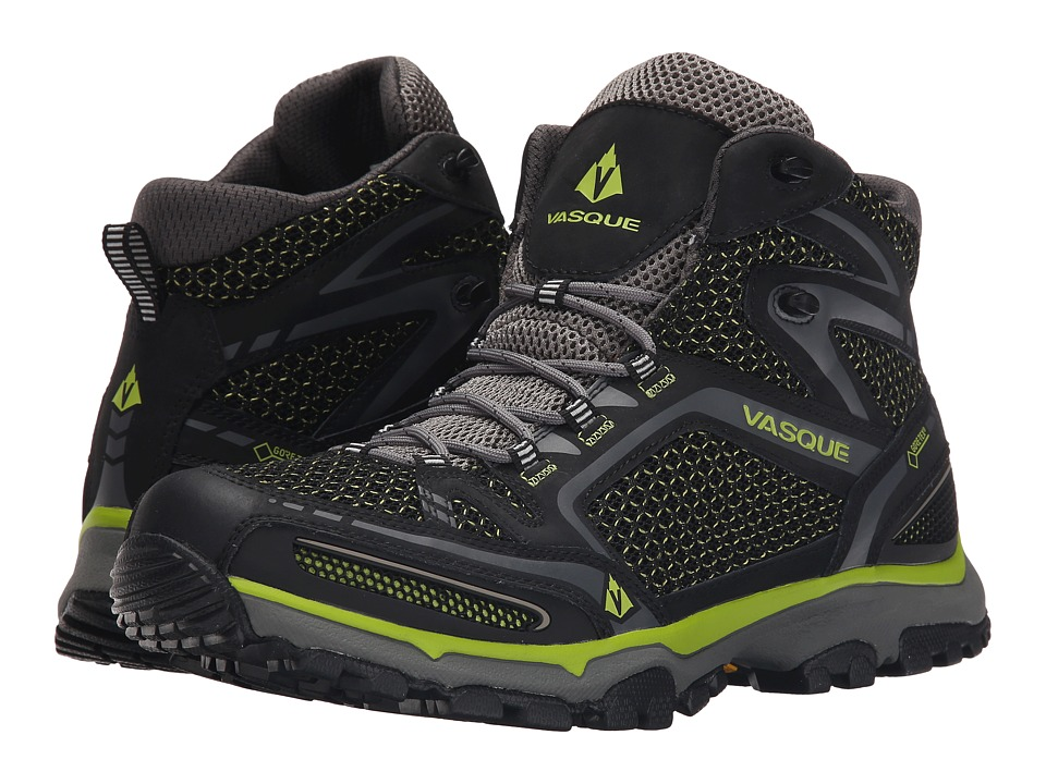 Vasque - Inhaler II GTX (Black/Lime) Men