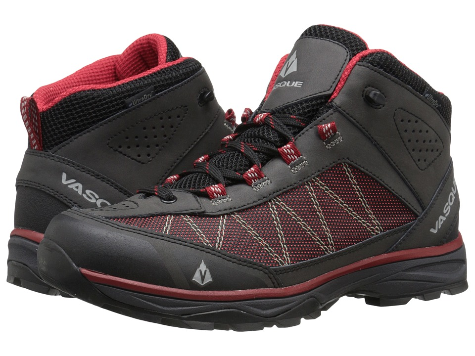 Vasque Monolith UltraDry (Black/Chili Pepper) Men