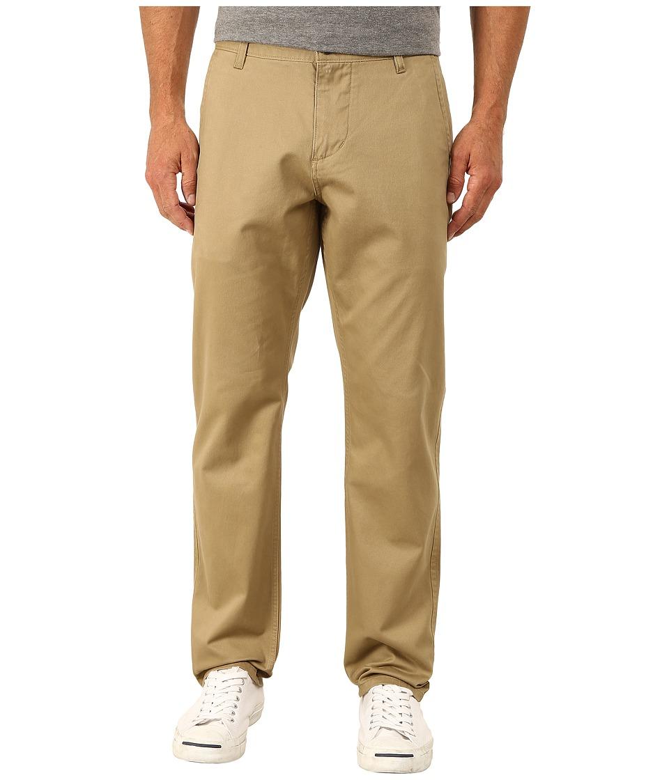 Dockers Mens Alpha Original Athletic Stretch Twill New British Khaki Mens Casual Pants