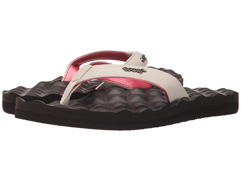 Reef Reef Dreams Cream/Brown Womens Sandals