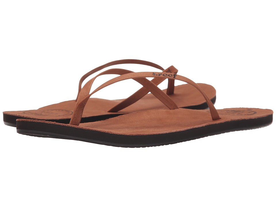 Reef - Leather Uptown (Cocoa) Women's Sandals