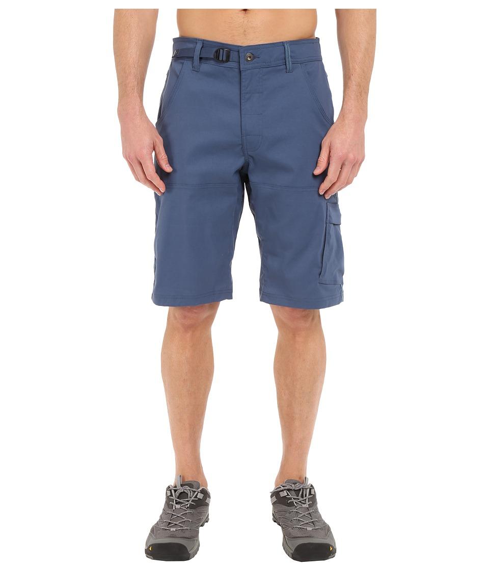 Prana Stretch Zion Short Blue Ridge Mens Shorts