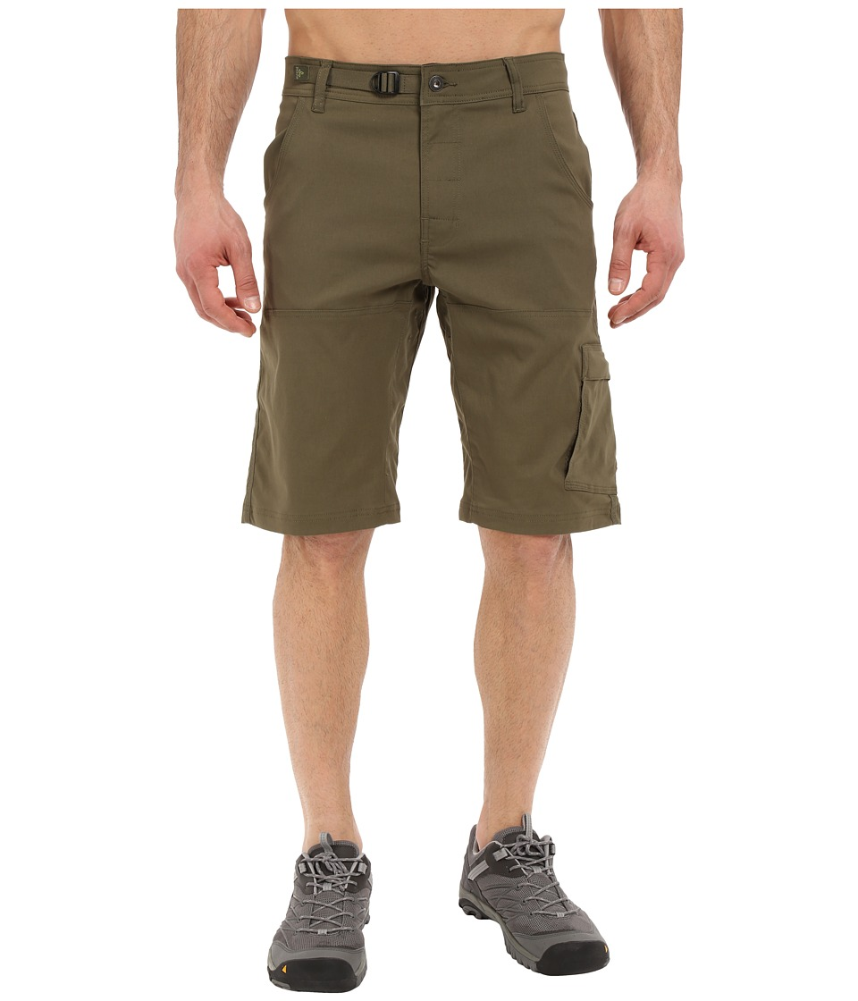 Prana Stretch Zion Short (Cargo Green) Men