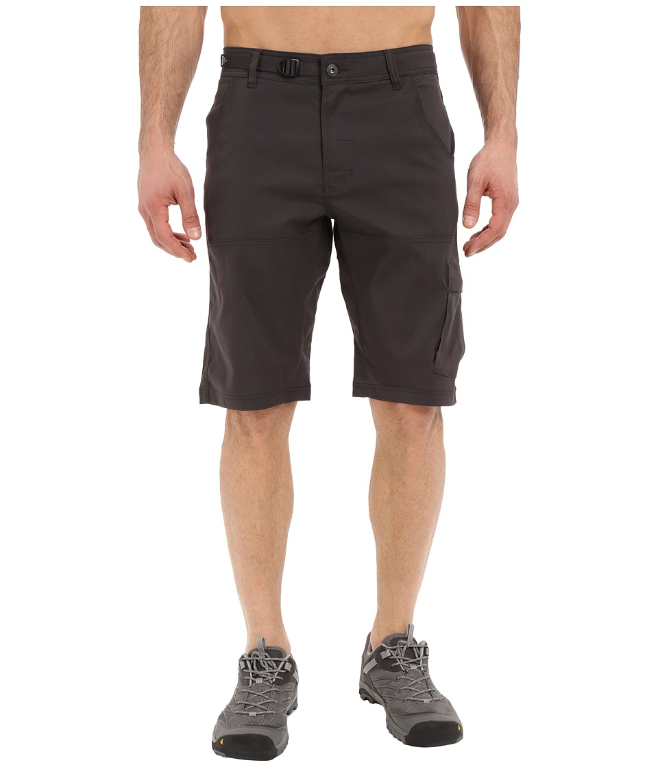 Prana Stretch Zion Short (Charcoal) Men