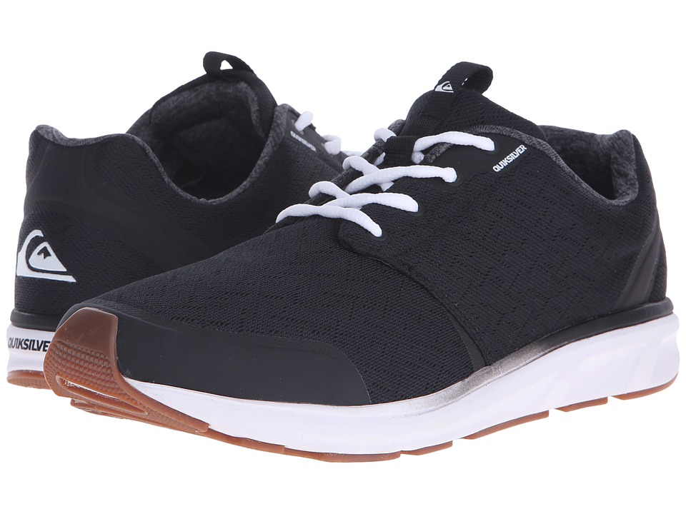 Quiksilver - Voyage (Black/Black/White) Mens Shoes