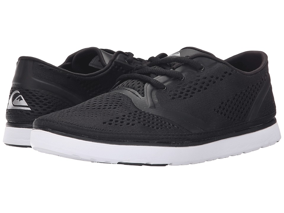 Quiksilver AG47 Amphibian Shoe (Black/Black/White) Men