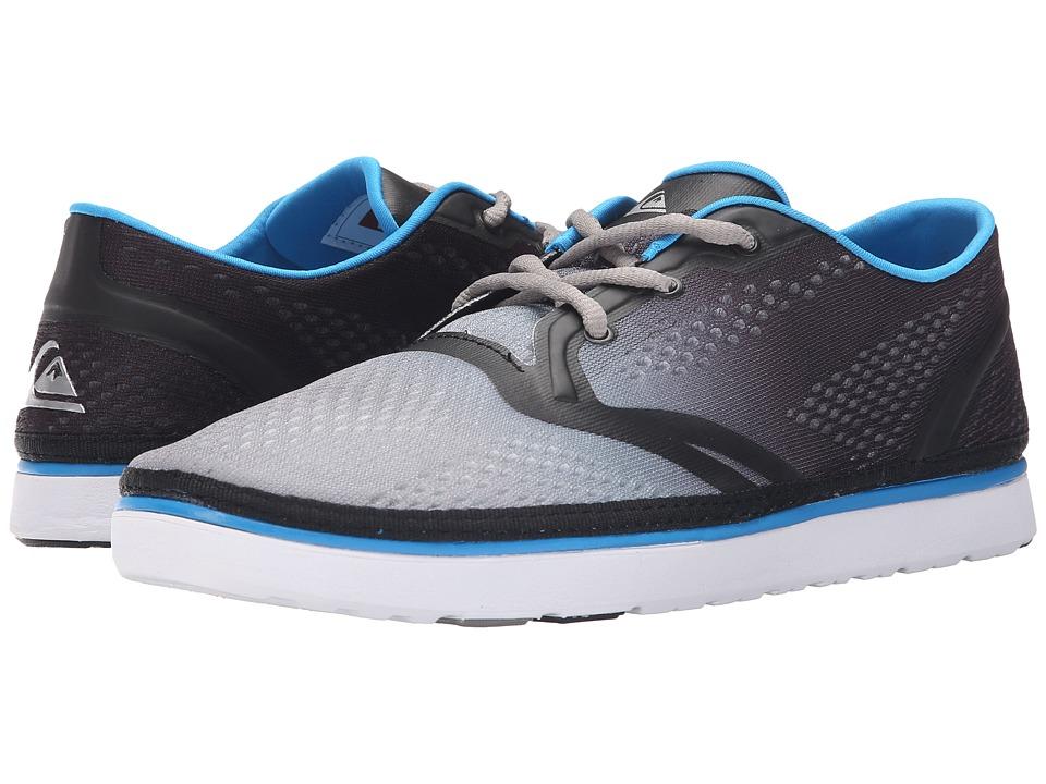 Quiksilver AG47 Amphibian Shoe Black/White/Blue Mens Shoes