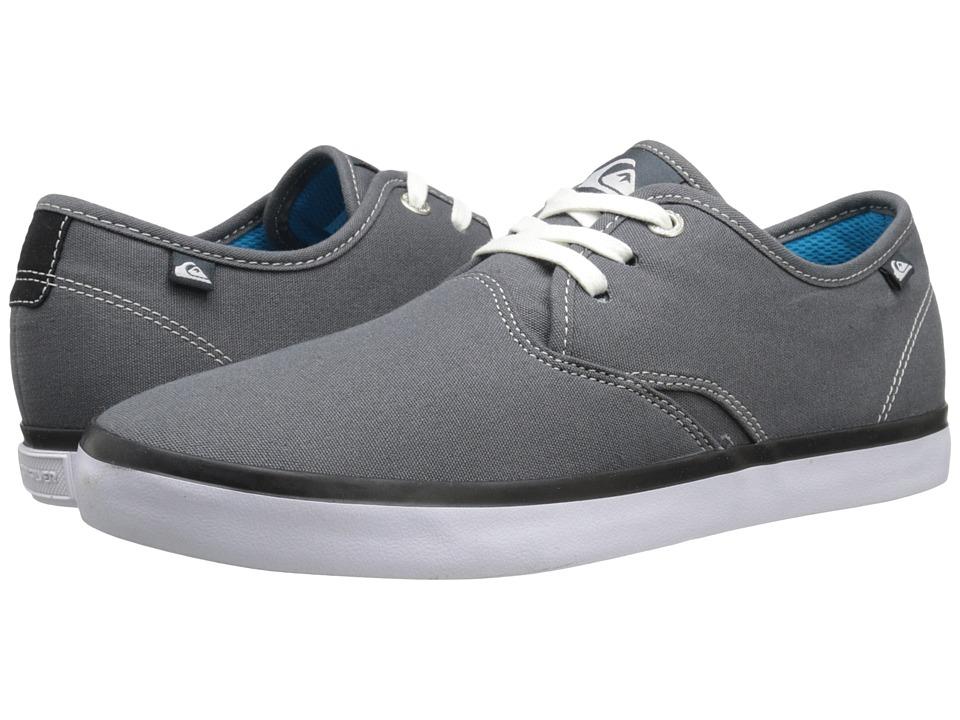 Quiksilver - Shorebreak (Grey/Grey/White) Mens Shoes