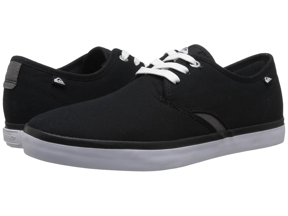 Quiksilver - Shorebreak (Black/Black/White) Mens Shoes