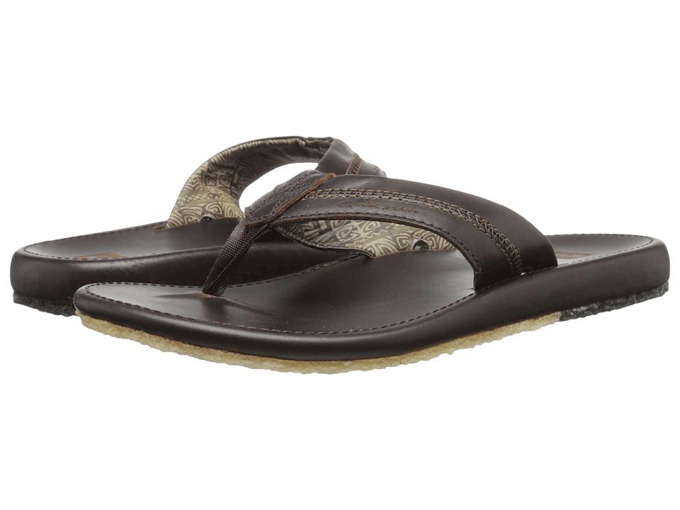 Quiksilver Corsica Brown/Brown/Brown Mens Sandals