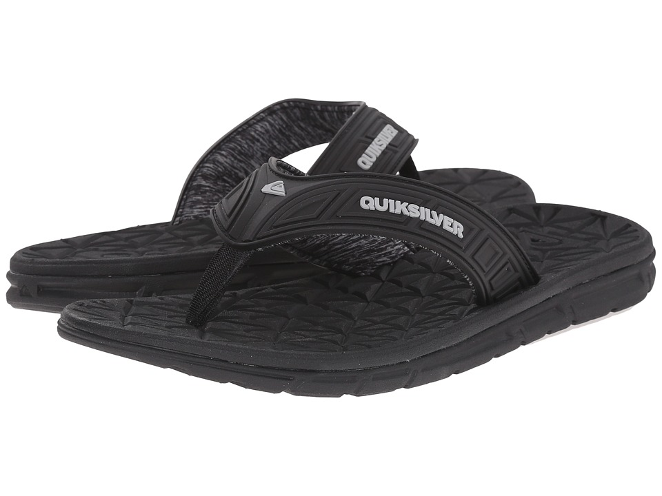 Quiksilver - Fluid (Black/Grey/Black) Men