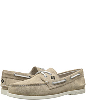 Sperry Top-Sider - A/O 2-Eye White Cap Canvas