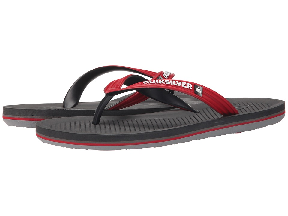 Quiksilver - Haleiwa (Red/Grey/Grey) Men