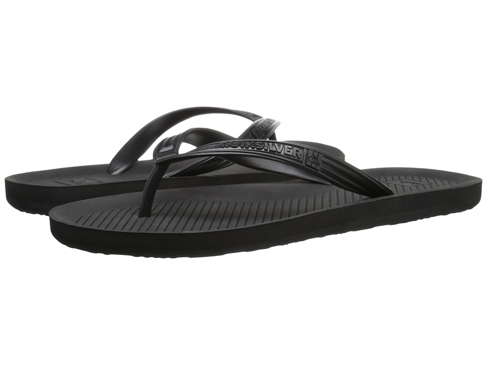 Quiksilver Haleiwa (Solid Black) Men